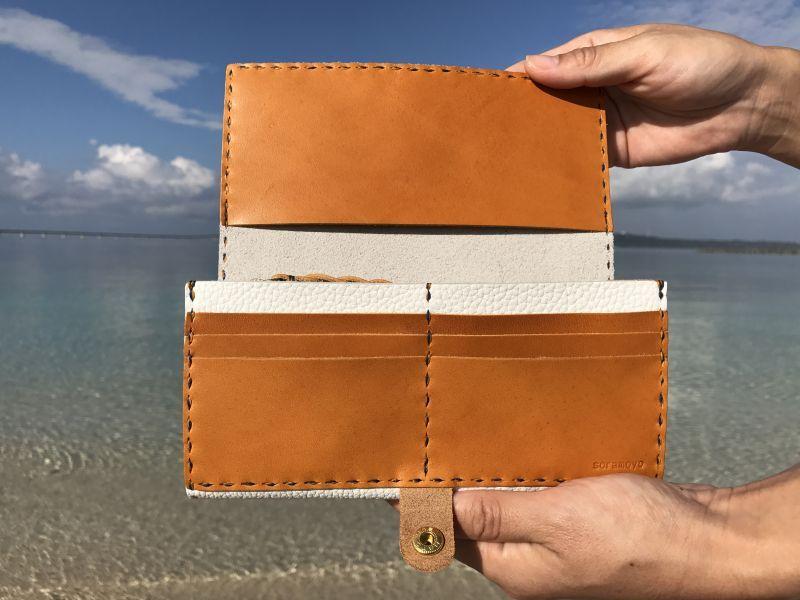 画像2: 長財布(厚)