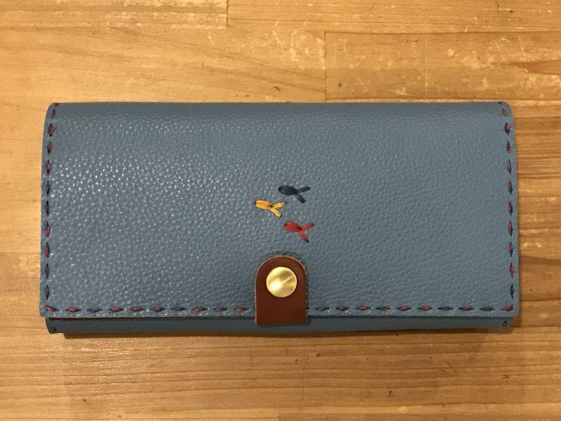 画像1: 長財布(厚)