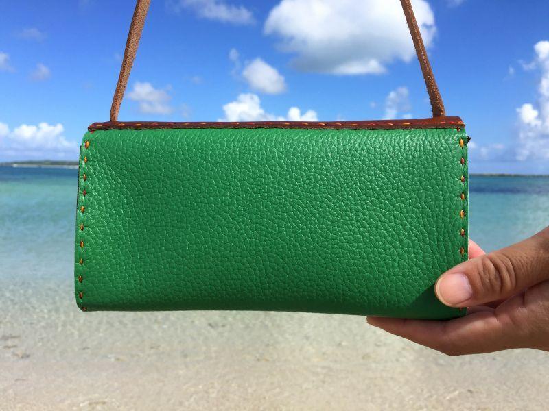 画像2: スマホ財布バッグ(カード入れあり)