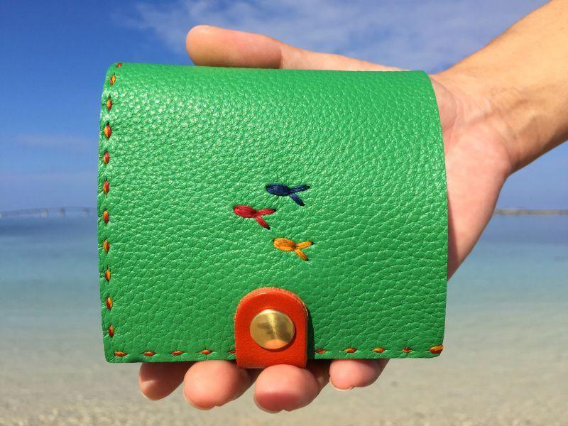 画像1: ミニ財布(2つ折り)