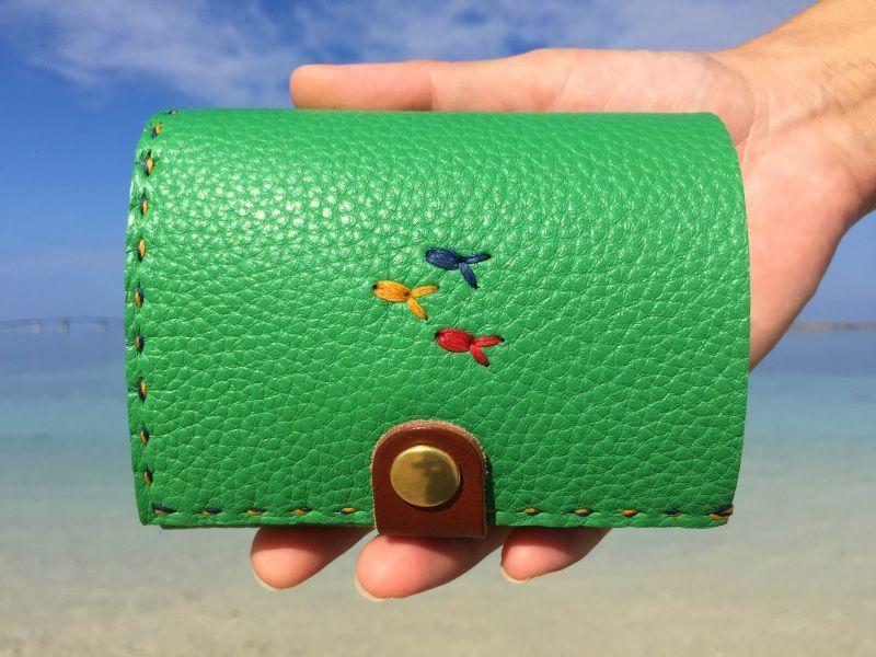 画像1: 2つ折り財布(ミニ)