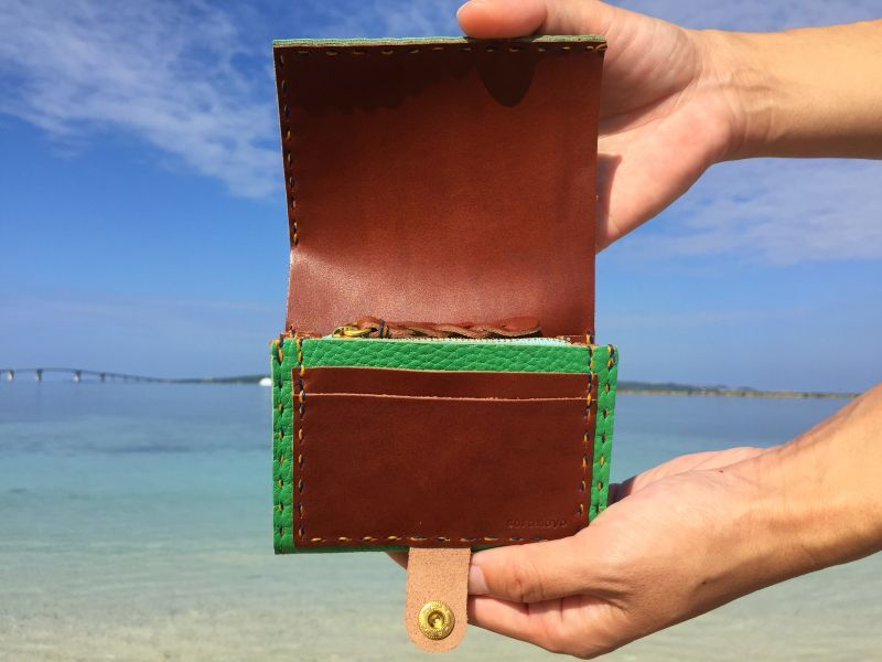 画像2: 2つ折り財布(ミニ)