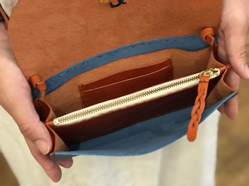 画像4: スマホ財布バッグ(カード入れあり)