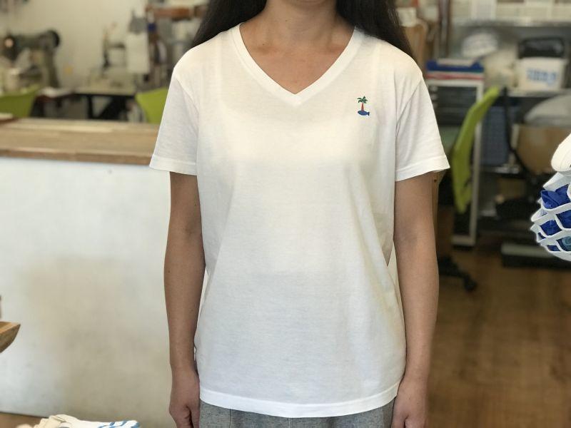画像3: サカナイランド - VネックTシャツ