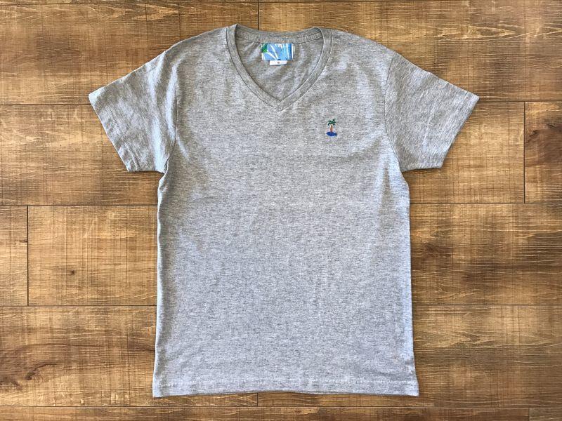画像1: サカナイランド - VネックTシャツ