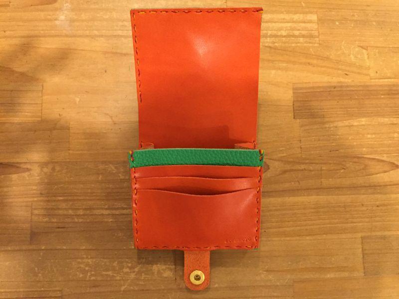 画像3: ミニ財布(2つ折り)