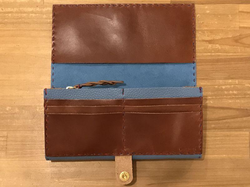 画像3: 長財布(厚)