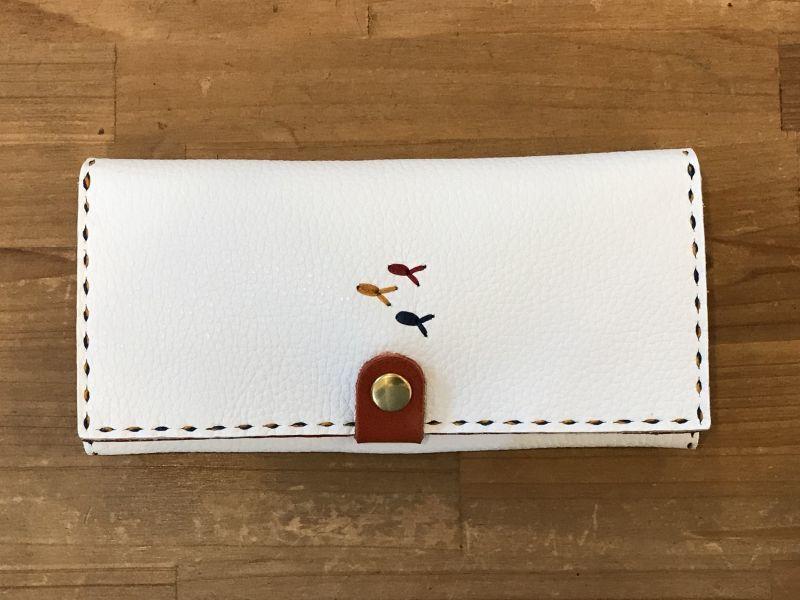 画像1: 長財布(薄)